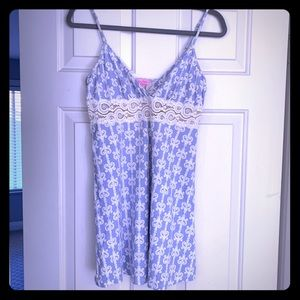 Lily Pulitzer nightgown and robe